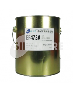 SIL-MORE EF 473 A1 EPOXY POTTING RESIN BLACK,5KG-CAN