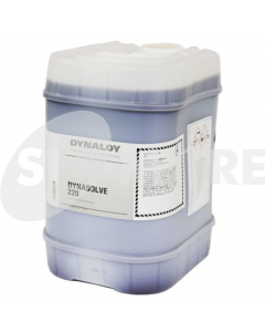 DYNASOLVE 220 DISSOLVING CURED SILICONES AMBER,5GL=18.5KG-PAIL
