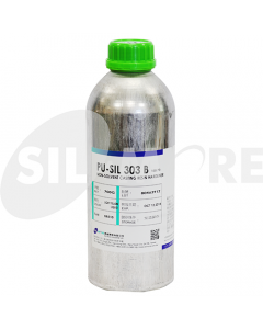 SIL-MORE PU-SIL 303 B NON-SOLVENT CASTING RESIN LIGHT YELLOW,1KG-CAN 100:70